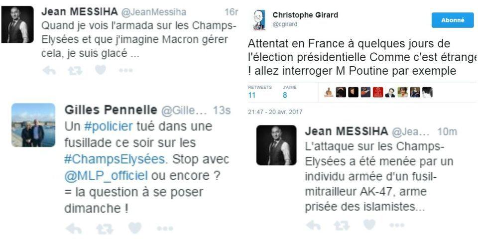 Fusillade sur les Champs-Élysées : les professionnels de la récupération politique sont déjà de sortie