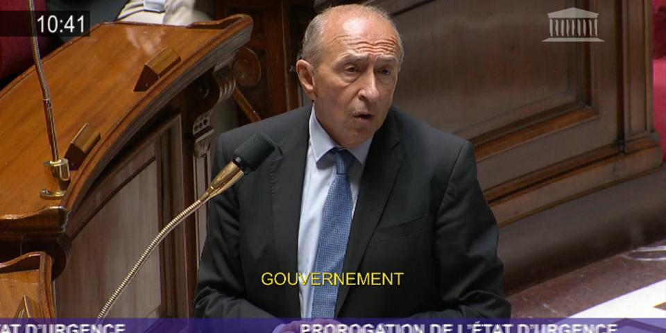 """Gérard Collomb ne """"sera pas le ministre qui se contentera de faire des hommages devant les cercueils de nos policiers"""""""