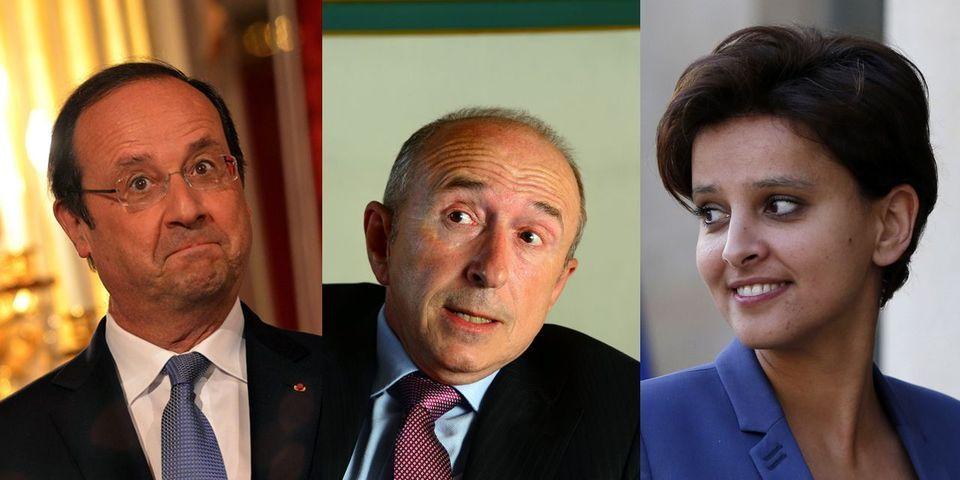 """Gérard Collomb sous-entend que François Hollande a choisi Najat Vallaud-Belkacem parce que c'est une """"jolie femme"""""""