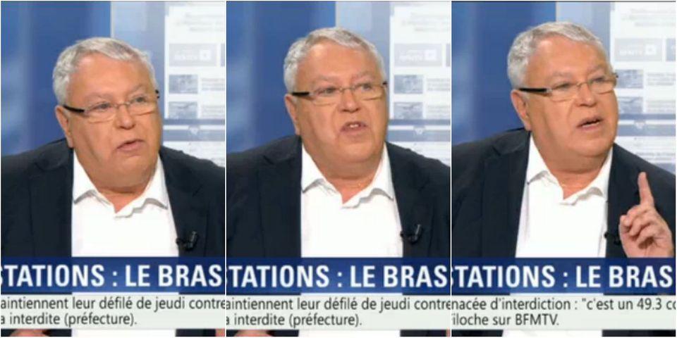 Gérard Filoche appelle à manifester malgré la menace d'interdiction de la préfecture de police