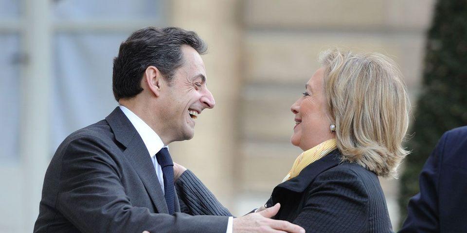 """""""Good luck"""" et """"good news"""" : les politiques français souhaitent bonne chance à Hillary Clinton pour la présidentielle américaine"""