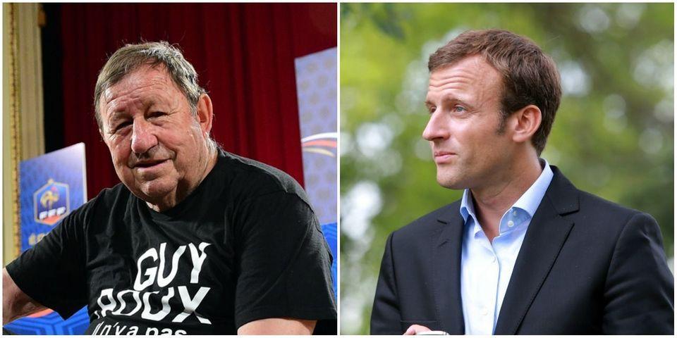Guy Roux invite Emmanuel Macron à rejoindre l'équipe de foot de l'état-major des armées