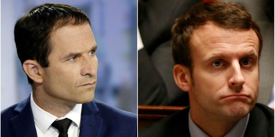 """Hamon défie Macron de """"rendre publique la liste des donateurs"""" de sa campagne présidentielle"""