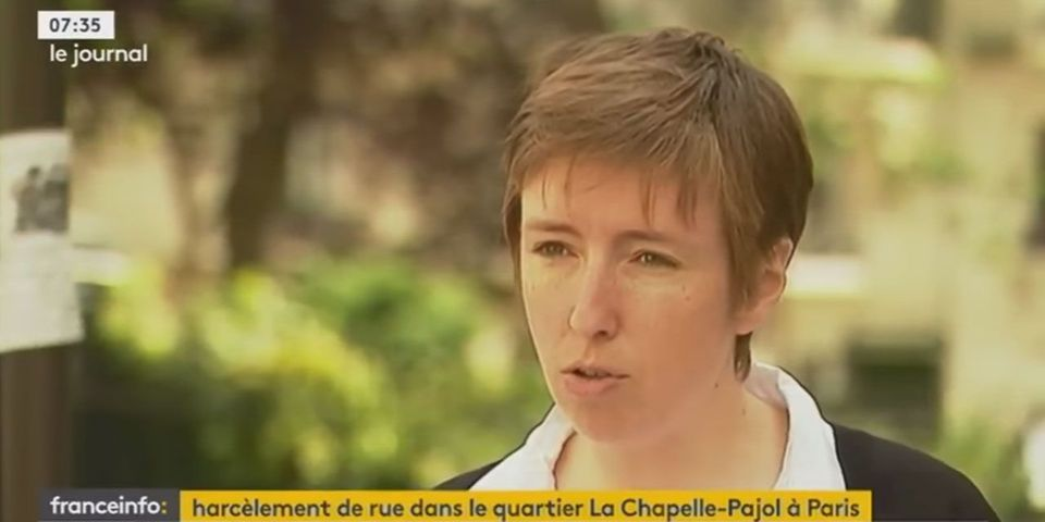 """Harcèlement de rue à La Chapelle : Caroline de Haas propose """"d'élargir les trottoirs"""""""
