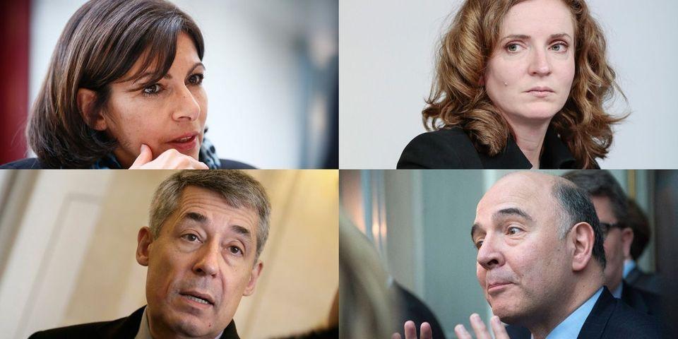 Henri Guaino, Pierre Moscovici, Jacques Attali, NKM et Anne Hidalgo: le multiplex politique du 9 mars
