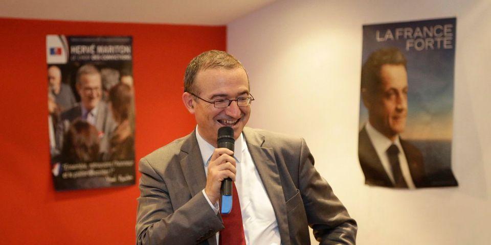 Hervé Mariton refuse (à nouveau) de décaler un meeting, tenu le même jour que celui de Nicolas Sarkozy
