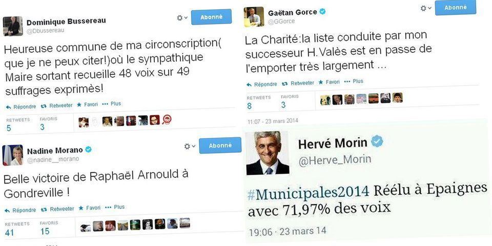 Hervé Morin, Nadine Morano, Gaëtan Gorce : ces politiques qui ont brisé l'embargo pour le premier tour des municipales