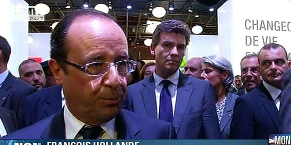 """Hollande adepte de l'expression  """"Pas un euro de plus"""""""