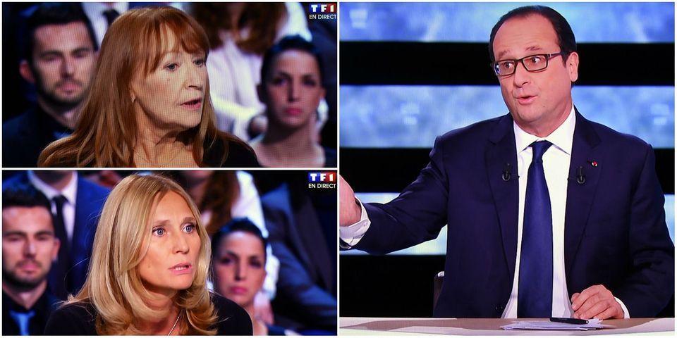 """Hollande dans """"Face aux Français"""" sur TF1 : deux participantes ont trouvé un nouvel emploi"""
