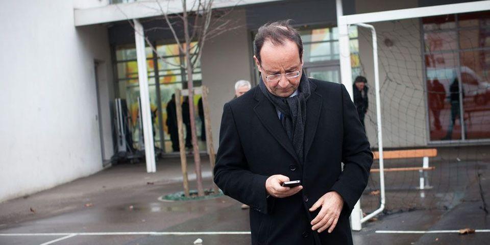Hollande et ses conseils de com'... par SMS
