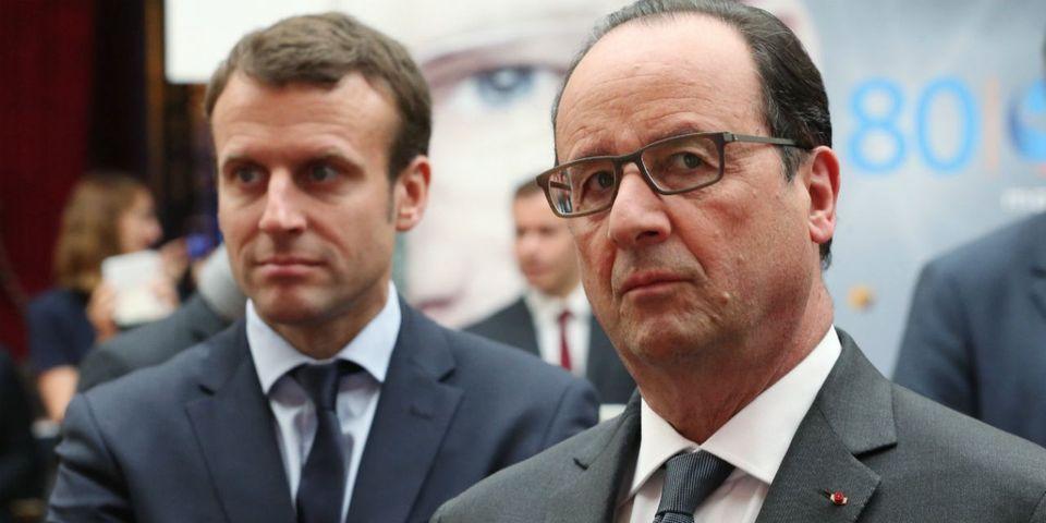"""Hollande regrette d'être considéré par Macron non pas """"comme un ancien Président"""" mais comme """"un opposant politique"""""""