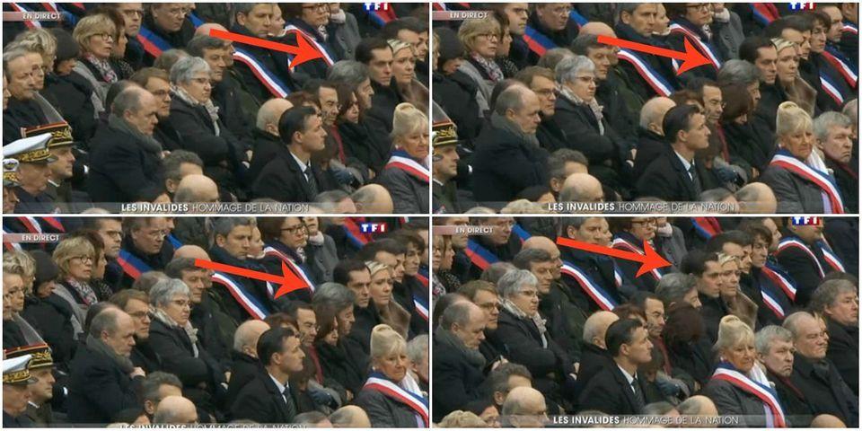 Hommage national : Jean-Luc Mélenchon s'en prend à l'Élysée après avoir été placé à côté de Marine Le Pen