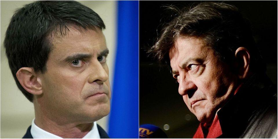"""""""Ignoble"""", """"outrancier"""", """"mépris"""" : Manuel Valls n'a pas aimé la démission de Mélenchon de la mission parlementaire sur la Nouvelle-Calédonie"""