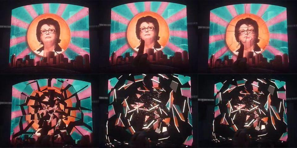 Indochine fait huer Christine Boutin lors d'un concert au Stade de France