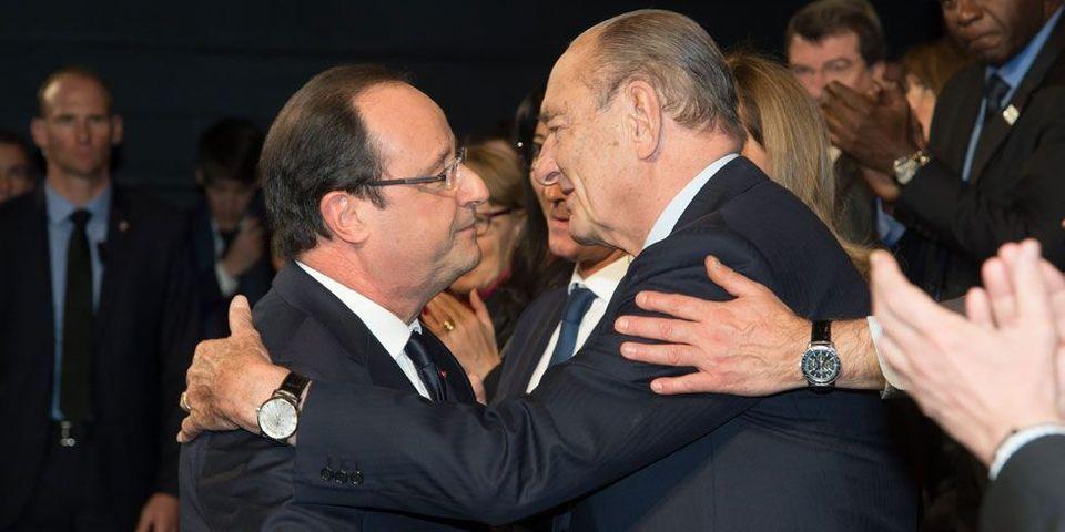 """Jacques Chirac est """"dithyrambique"""" sur François Hollande, selon Jean-Louis Debré"""