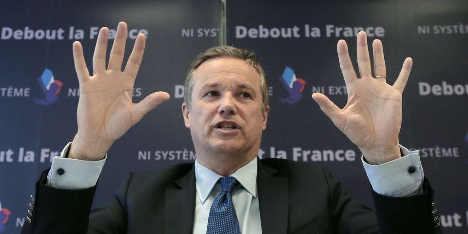 Les incohérences de Nicolas Dupont-Aignan sur son passé socialiste