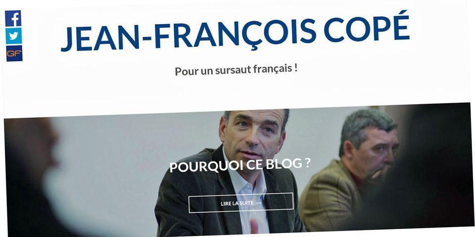 """Jean-François Copé inaugure son blog: """"la France de demain n'a pas besoin d'un homme providentiel"""""""