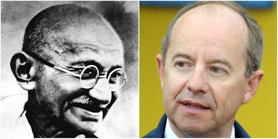 """Jean-Jacques Urvoas (PS) revendique s'être """"inspiré de Gandhi"""" pour préparer la loi sur le renseignement"""