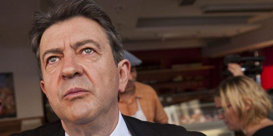 """Mélenchon accuse un journaliste d'être un """"sale petit espion"""" d'un """"journal fasciste"""""""