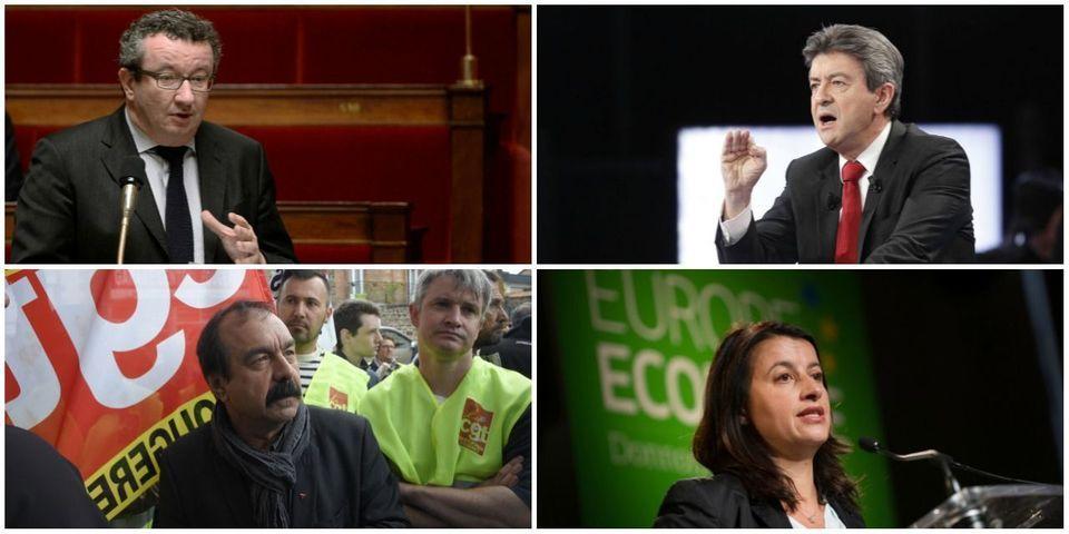 Jean-Luc Mélenchon, Christian Paul, Cécile Duflot, Philippe Martinez : les guest-stars du congrès du PCF
