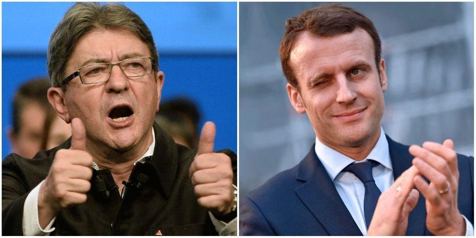 """Jean-Luc Mélenchon demande à Emmanuel Macron """"de rendre l'argent"""" à la Grèce"""