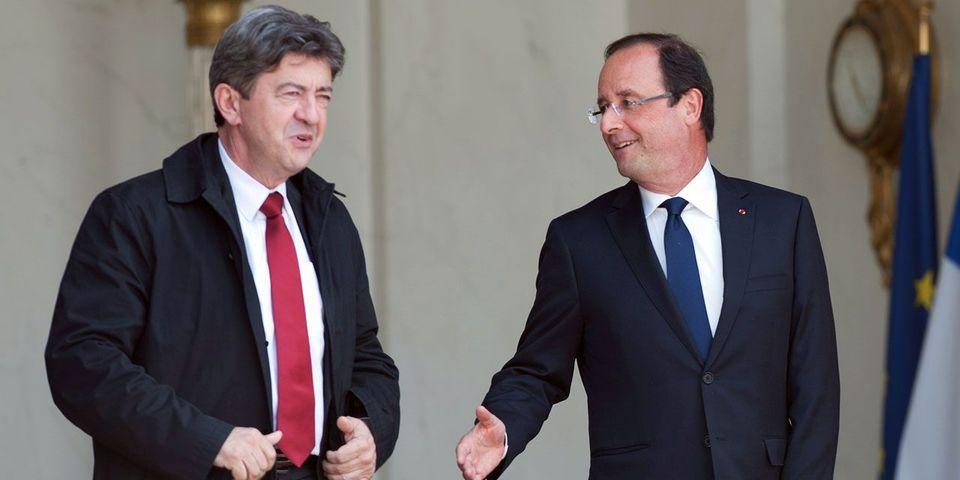 Jean-Luc Mélenchon demande un rendez-vous à François Hollande après la décision de la BCE concernant la Grèce