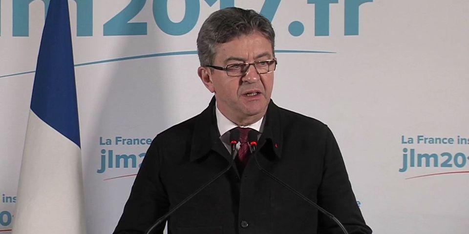 """Jean-Luc Mélenchon refuse de """"valider"""" le score du premier tour de la présidentielle"""", annoncé sur la base de sondages"""