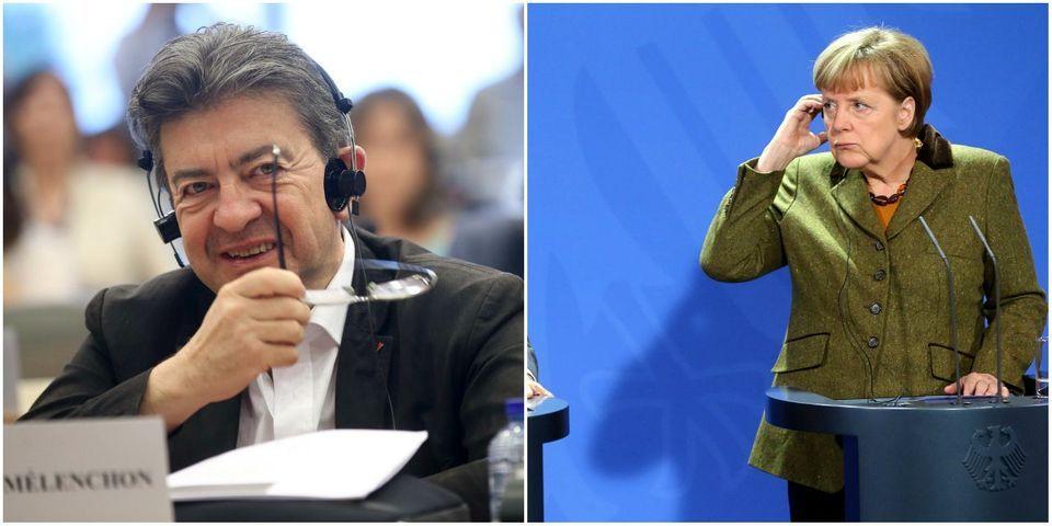 Jean-Luc Mélenchon s'en prend encore à Angela Merkel via un tweet insultant