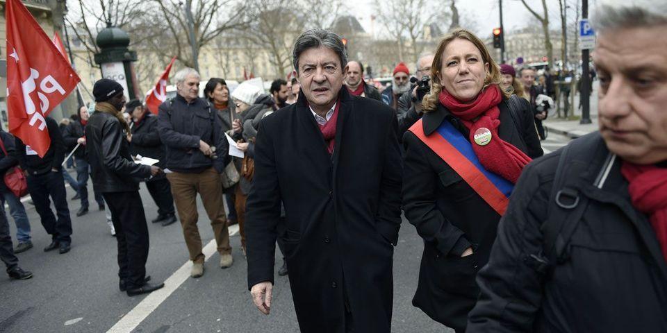 Jean-Luc Mélenchon s'adresse aux adhérents de l'UMP pour leur demander de refuser Les Républicains