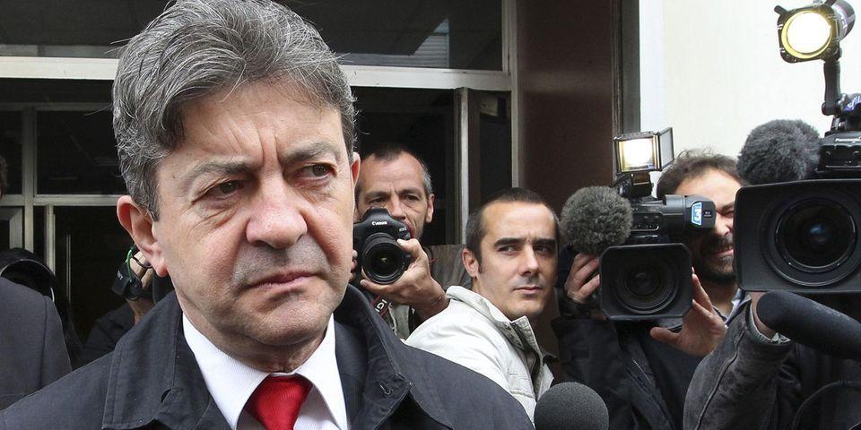 """Jean-Luc Mélenchon suspecte le gouvernement de vouloir délibérément """"allumer un incendie"""" dans sa gestion des manifs pro-Gaza"""
