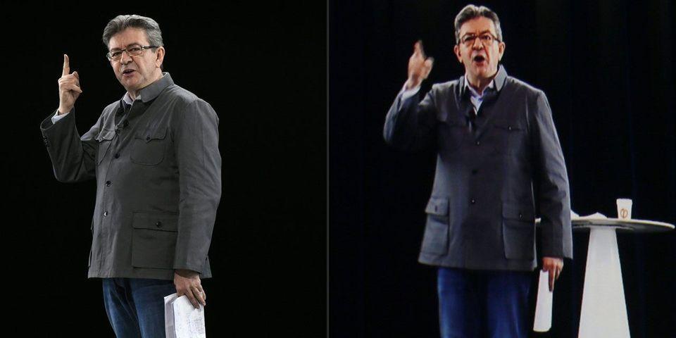 Jean-Luc Mélenchon tiendra un multi-meeting dans 7 villes à la fois (dont 6 par hologramme)