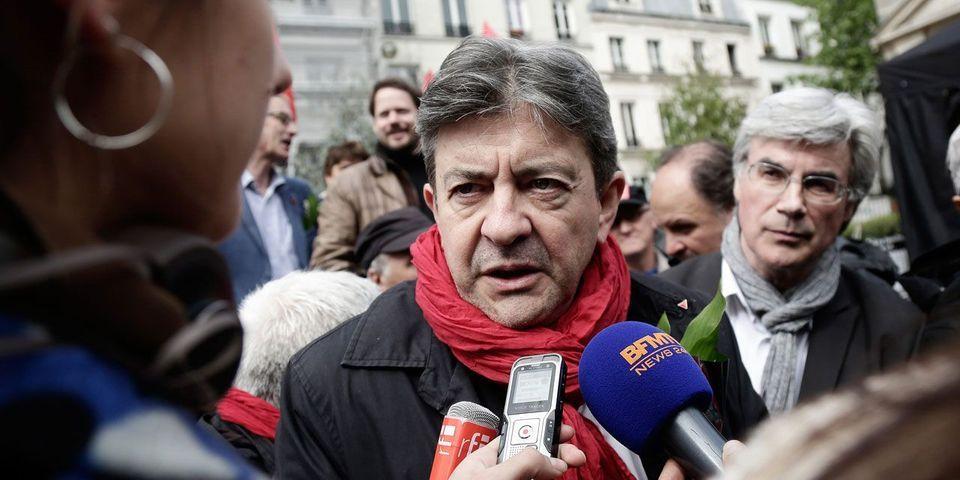 """Jean-Luc Mélenchon veut que ses militants """"surveillent"""" et """"filment"""" les journalistes du Monde et de Libération"""