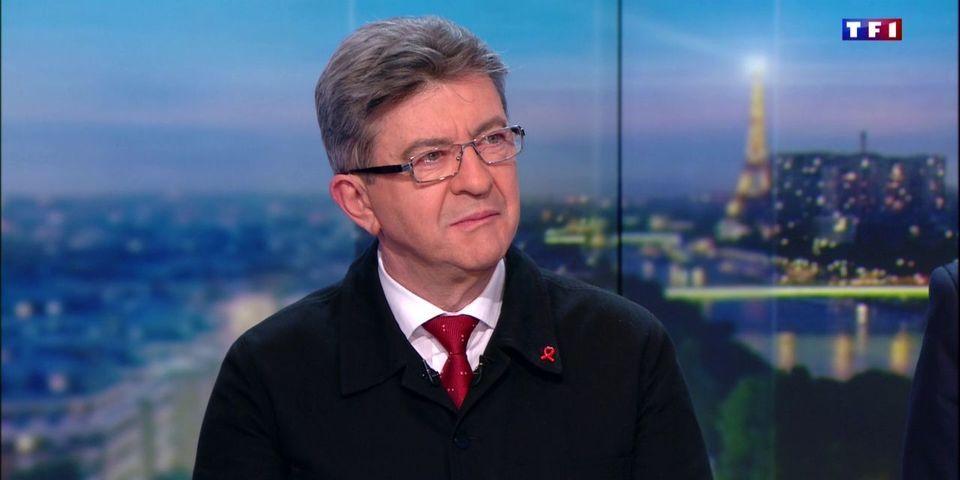 """Jean-Luc Mélenchon voit dans la décision de François Hollande un """"énorme aveu d'échec"""""""