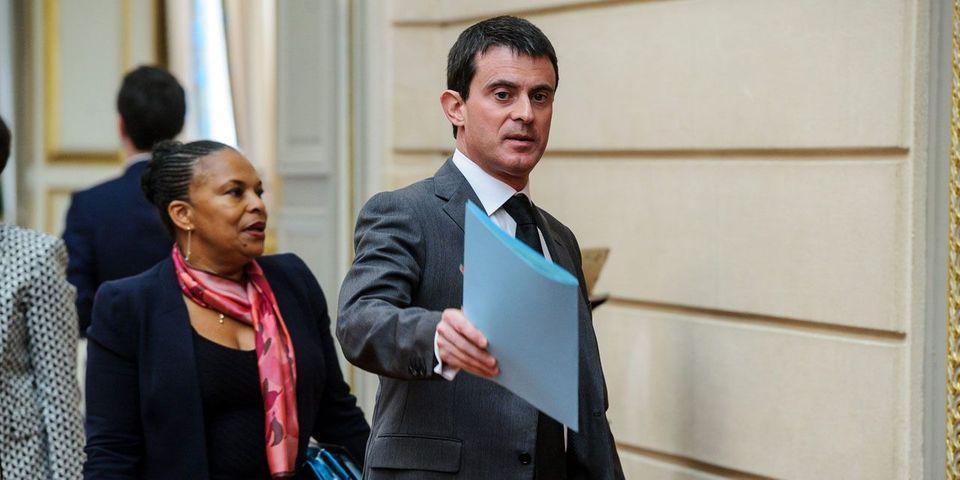 """Jean-Marc Ayrault, Manuel Valls et Christiane Taubira répliquent à Nicolas Sarkozy et dénoncent """"une grave faute morale"""""""