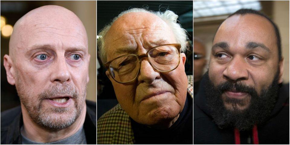 Jean-Marie Le Pen a fêté son 87ème anniversaire avec Dieudonné et Alain Soral