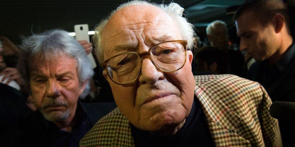 Jean-Marie Le Pen accuse Florian Philippot d'être responsable de la défaite de Marine Le Pen