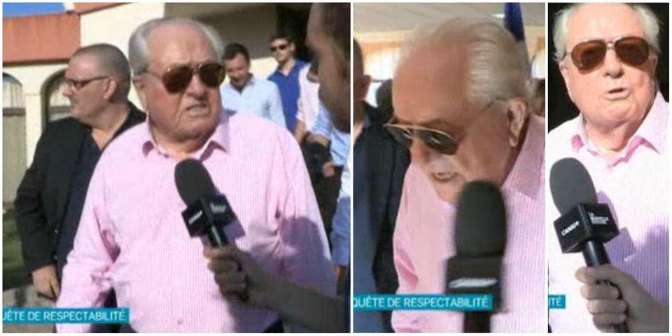 """Jean-Marie Le Pen admet s'être fait """"tromper"""" par un faux passage pornographique du livre de Valérie Trierweiler"""