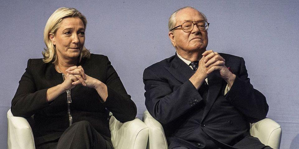 Jean-Marie Le Pen balance en pleines prises d'otages un appel au vote pour Marine Le Pen