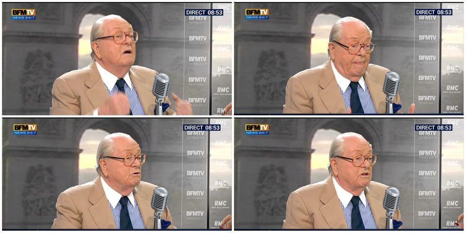 Jean-Marie Le Pen, comme Eric Zemmour, pense que le régime de Vichy est excusable