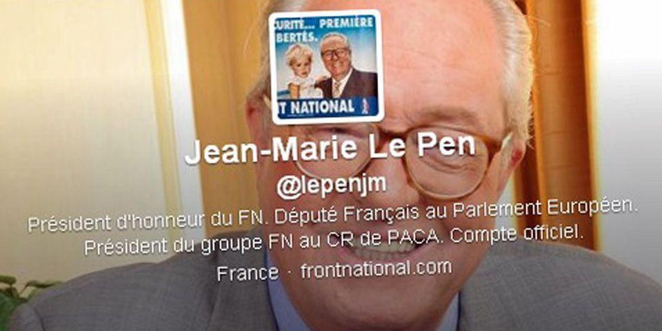 Jean-Marie Le Pen ouvre un compte Twitter alimenté par deux cadres FN de PACA