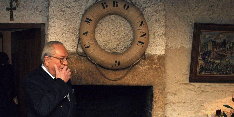 Jean-Marie Le Pen dément être interdit de séjour dans sa maison natale de La Trinité