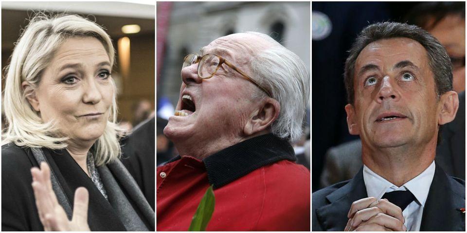 Jean-Marie Le Pen juge Nicolas Sarkozy plus à droite que Marine Le Pen