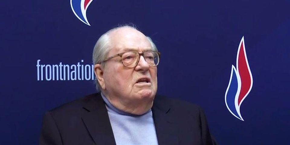 """Jean-Marie Le Pen qualifie Claude Bartolone de """"faux-cul"""" et de """"vraie vulve"""""""