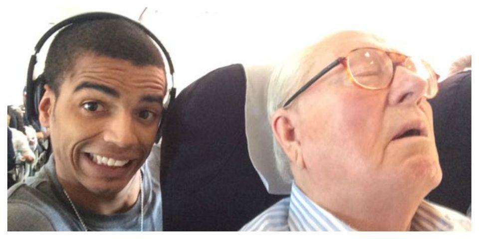 Jean-Marie Le Pen réclame 50.000 euros à Brahim Zaibat pour le selfie publié avant les régionales