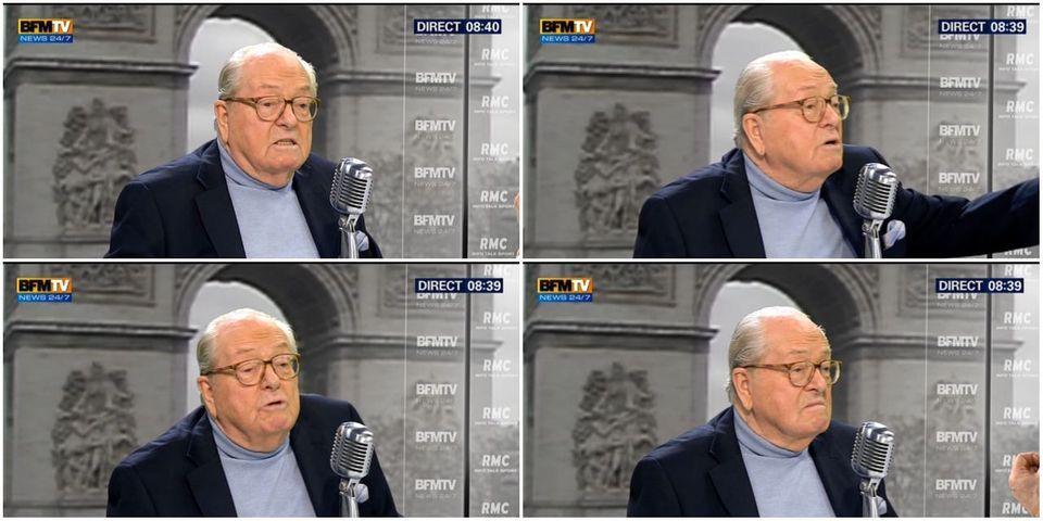 """Jean-Marie Le Pen répète que les chambres à gaz sont un """"point de détail"""" de la seconde guerre mondiale"""
