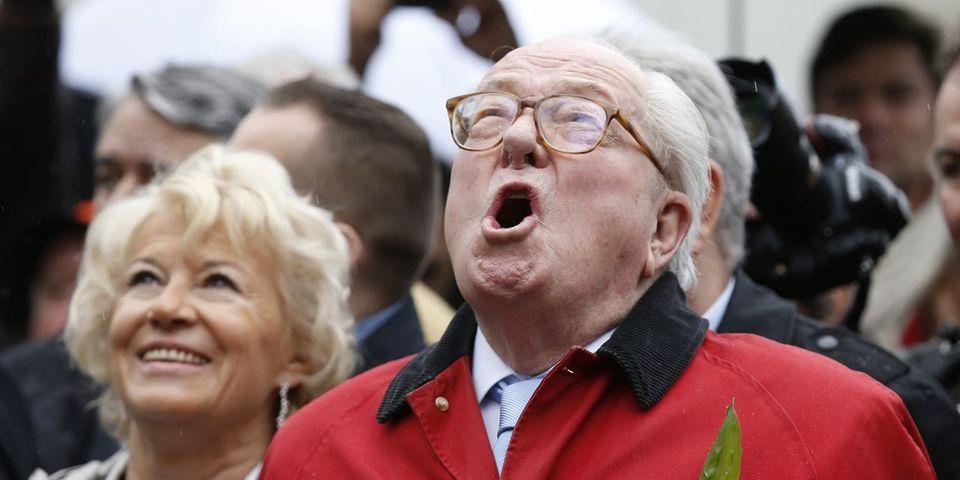 Jean-Marie Le Pen se réjouit de la décision de la cour d'appel de Versailles et invite Florian Philippot à quitter le FN