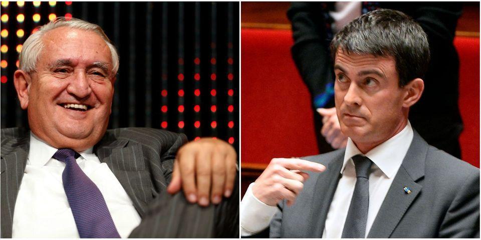"""Jean-Pierre Raffarin avertit qu'il """"ne faut pas sous-estimer Manuel Valls"""""""