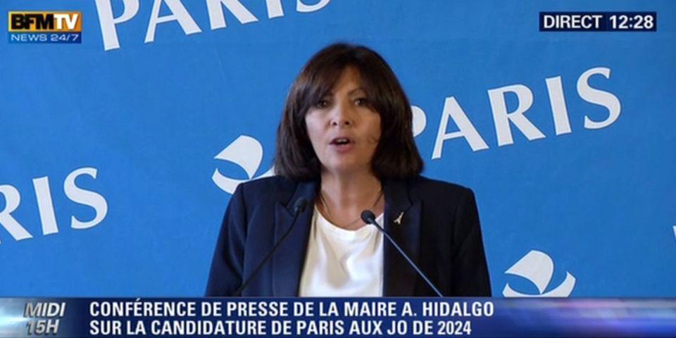 JO 2024 : Anne Hidalgo remet François Hollande à sa place sur une candidature de Paris