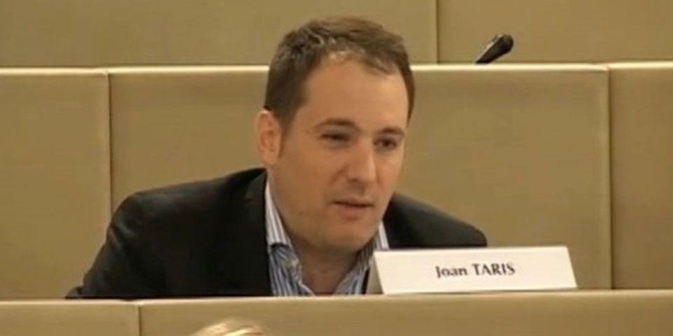 Joan Taris, un responsable local du Modem bordelais, compare Dieudonné à Youssouf Fofana et Mohamed Merah