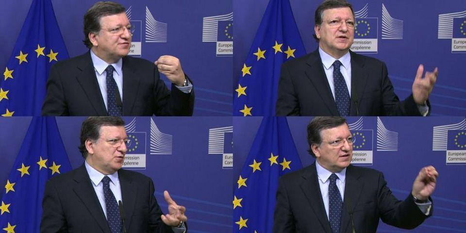 """José Manuel Barroso accuse Arnaud Montebourg d'avoir """"exactement le même discours que l'extrême droite"""""""